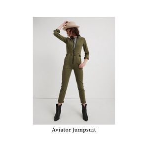 Lucky Brand Aviator jumpsuit